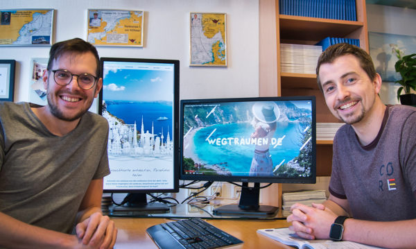 EURESA Gründer Johannes Nicknig und Gregor Demmer (v.l.n.r., © EURESAreisen).